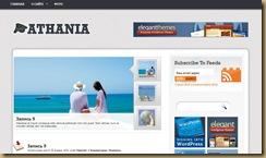 athania тема wordpress