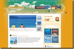 coastalsun шаблон wordpress