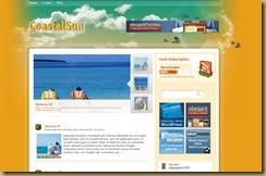 coastalsun шаблон wordpress