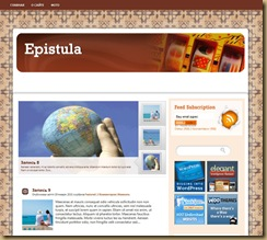 epistula тема wordpress