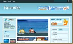 fortune-sky тема wordpress