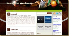 nba тема wordpress