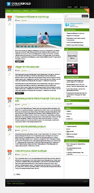 премиум-тема wordpress
