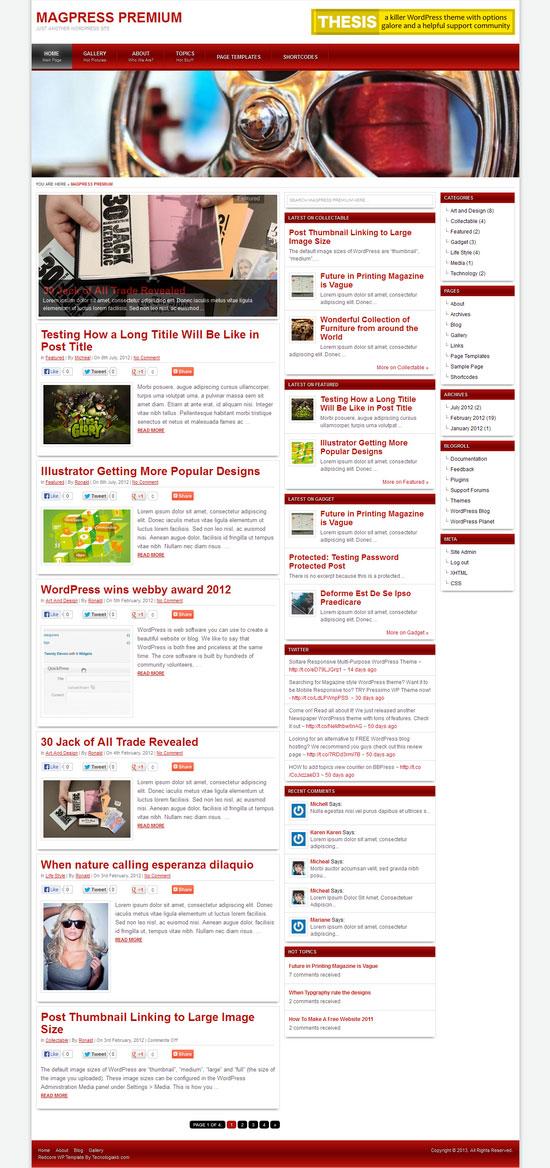 redcore-wordpress-theme